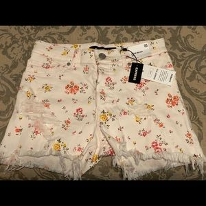 Brand new express high rise shorts